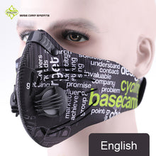 sampurchase BASECAMP Cycling Mask Activated Carbon Anti-Pollution Masks Dustproof Mountain Bicycle Sport Road Cycling Masks Face Cover