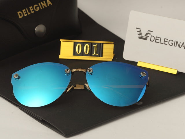 1f825442b3a4 sampurchase DELEGINA Ladies Luxury Polarized Sunglasses Women Sun Glasses  Brand Designer Shades