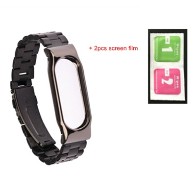 sampurchase SCOMAS metal band strap for xiaomi miband 2 miband2 replacement wrist bands for Xiaomi Mi band 2 mi band 2 wearable accessories