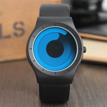 sampurchase New Concept Watch Minimalist Style Cool Color Spiral Turntable Novel Stylish Wristwatch Geek Fans Gift Male Female Clock relogio
