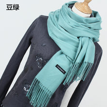 sampurchase Hot sale Scarf Pashmina Cashmere Scarf Wrap Shawl Winter Scarf Women's Scarves Tassel Long Blanket Cachecol High Quality YR001