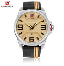 SAMPURCHASE NAVIFORCE New Watch Men Sport Quartz Watches Colorful Fashion and Casual Watches Clearly See Analog Male Clock Relogio Masculino