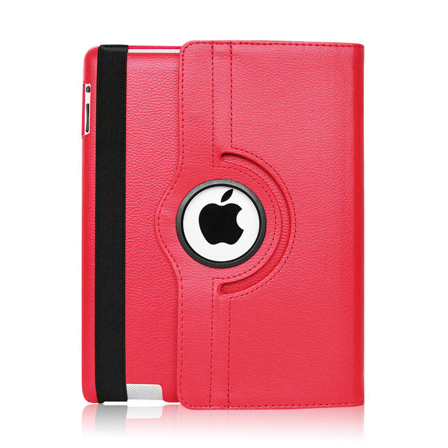sampurchase Zimoon Case For Apple ipad 2 3 4 Magnetic Auto Wake Up Sleep Flip Litchi Leather Case Cover With Smart Stand Holder