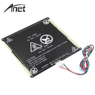 sampurchase Anet A6 A8 MK3 12V Hotbed Aluminum Heated Bed Upgraded from MK2B & MK2A for Mendel RepRap i3 3D Printer Hot-bed