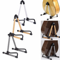 sampurchase  New 3 Colors Guitar Stand Universal Folding A-Frame use for Acoustic Electric Guitars Guitar Floor Stand Holder High Quality