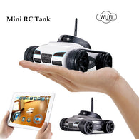 sampurchase  New 2017 Mini RC I-Spy Wifi Tank Robot 777-270 With 0.3MP Camera Remote Control By Iphone Android Phone RC tank kids toy