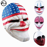 SAMPURCHASE Minch Clown Masks Scary Clowns Mask Payday 2