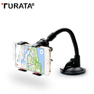sampurchase  TURATA Car Phone Holder, Flexible 360 Degree Adjustable Car Mount Mobile Phone Holder For Smartphone 3.5-6 inch, Support GPS