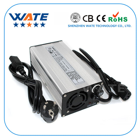 sampurchase 54.6v 5a battery charger bike 48v Lithium 48 volt li-ion 54.6v 5A smart intelligent For 10Ah 15Ah 48v 20ah battery charger 13s