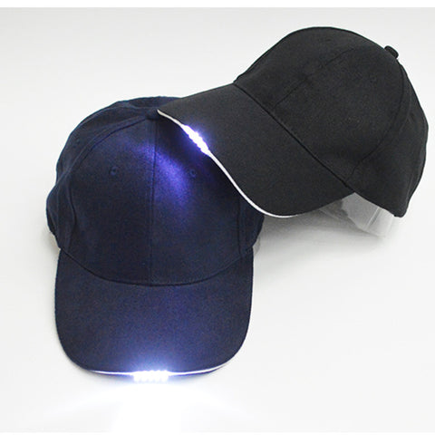 SAMPURCHASE Bright Glow in Dark Light Up LED Sport Hat Baseball Caps