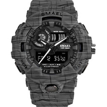 SAMPURCHASE SMAEL Sport Watch Military Watches Men Army Digital Writwatch LED 50m Waterproof Men's Watch