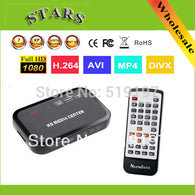 sampurchase Full HD 1080P Media Player Center MultiMedia Video Player with HDMI VGA AV USB SD/MMC Port Remote Control Surpport mkv H.264