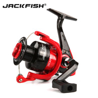 sampurchase JACKFISH High Speed Fishing Reels G-Ratio 5.0:1 Bait Folding Rocker spinning wheel fishing reel carpa molinete de pesca