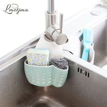 sampurchase LMETJMA Kitchen Sponge Drain Holder Wheat Fiber Sponge Storage Rack Basket Wash Cloth Or Toilet Soap Shelf Organizer KC0608-2
