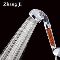 SAMPURCHASE Bathroom Water Therapy Shower Anion SPA Shower Head Water Saving Rainfall Shower Filter Head High Pressure ABS Spray ZJ013