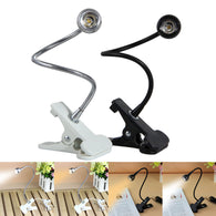 sampurchase USB Flexible Stand Clip LED Reading Light Clip-on Beside Table Computer Desk Lamp Student Dormitory Desk Lamp Home Lighting