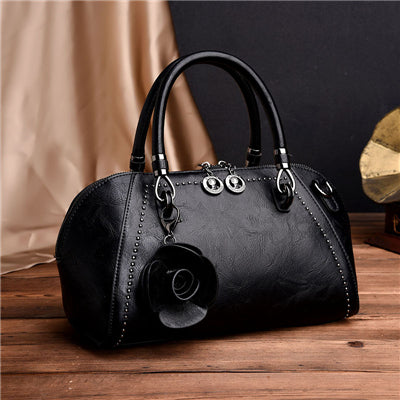 sampurchase Luxury Handbags Women Bag Flower Designer Bag Leather Women Messenger Bags Sac A Main Crossbody Bags Female Totes Bolsa Feminina