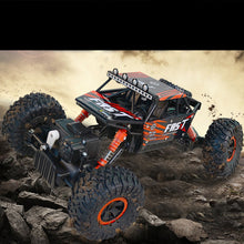 SAMPURCHASE 2.4G Rock Crawlers RC Car 4WD Rock Climber Waterproof Remote Control Car Off-Road Vehicle Toy for Kids