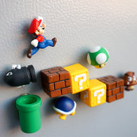 sampurchase 10 only 3D cute super Mario decorated children's stereo magnet creative magnetic stickers refrigerator to stick home accessories
