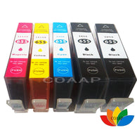 sampurchase 5 Compatible HP 655 hp655 ink cartridge FOR HP deskjet 3525 4615 4625 5525 6525 CZ109AE CZ110AE CZ111AE CA112AE