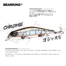 sampurchase  Bearking 11cm 17g magnet weight system long casting New model fishing lures hard bait dive 0.8-1.2m quality wobblers minnow