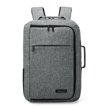 sampurchase  Unisex 15.6 Laptop Backpack Convertible Briefcase 2-in-1 Business Travel Luggage Carrier
