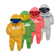 SAMPURCHASE Baby Rompers Jumpsuits Infant Long Sleeve Underwear Newborn