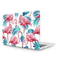 SAMPURCHASE MTT Laptop Bag Case For 2017 New Macbook Air 13 Case 11 Pro 13 15 12 Retina Touch Bar Print Hard Protect Cover Flamingo Shell