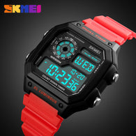 sampurchase SKMEI Sports Watch Men Top Brand Luxury Famous LED Digital Watches Male Clocks Men's Watch