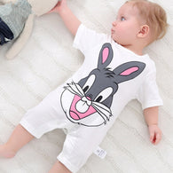 sampurchase summer 2018 baby bodysuits 0-24M short sleeve body babies newborn baby girl boy clothing cotton infant jumpsuit cartoon costume