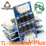 sampurchase Trianglelab 4 pieces/pack TL-smoother PLUS  addon module for 3D pinter motor drivers motor Driver Terminator reprap mk8 i3