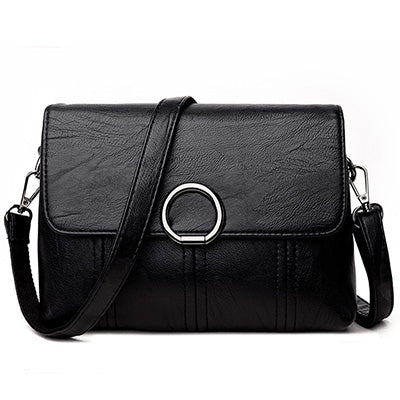 sampurchase ALIDM Brand High Quality Women Crossbody Bags Female Totes Handbags Women Bag Handbags Solid Leather Messenger Shoulder Bag
