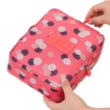 sampurchase  Women fashion Travel Nylon beauty makeup bags water-proof cosmetics bags bathroom organizer of portable bath hook washing up bag