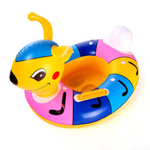 sampurchase Inflatable baby swimming neck ring mother and child swimming circle double swimming rings float seat  piscine