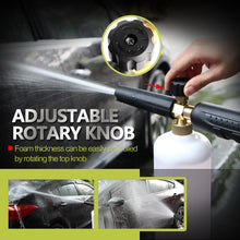 "sampurchase Car-Styling Foam gun car wash Pressure Washer Jet Wash 1/4"" Quick Release Adjustable Snow Foam Lance Foam Cannon tools"