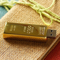 sampurchase Real Capacity Gold Bar USB 3.0 Flash Memory Drive Stick Disk Key 64GB 8GB 32GB USB Flash Drive 1TB 2TB Pendrive 16GB 512 GB Gift