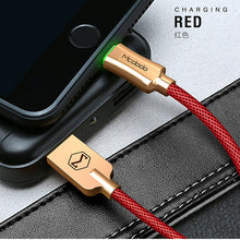 sampurchase MCDODO USB Cable LED Light For iPhone Apple 7 6 5 6s plus Fast Charging Cable Mobile Phone Charger Cord Adapter Usb Data Cable