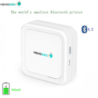 sampurchase New Bluetooth 4.2 Portable Printer MEMOBIRD G3 Phone Photo printer Pocket Mini Sticker Thermal printer USB Micro connector