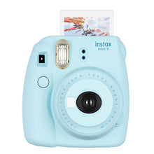 SAMPURCHASE Fujifilm Instax Mini 9 Instant Camera - Flamingo Pink, Ice Blue, Cobalt Blue, Smoky White and Lime Green 5 Colors Free Shipping