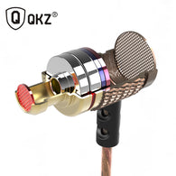 sampurchase QKZ DM6 Earphones Enthusiast bass In-Ear Earphone Copper Forging 7MM Shocking Anti-noise Microphone Sound Quality fone de ouvido