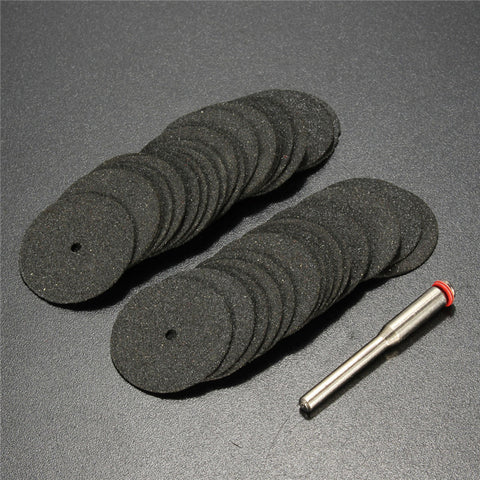 SAMPURCHASE Combiubiu 36pcs 24mm Resin Cut-off Wheel Cutting Disc Kit