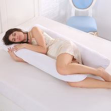 SAMPURCHASE HazyBeauty U Type Pregnancy Pillows Body Pillow for Pregnant Women Best For Side Sleepers Removable Big Pregnancy Pillow130*70cm