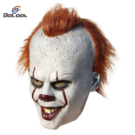 SAMPURCHASE Stephen King's It Pennywise Mask Latex Clown Mask