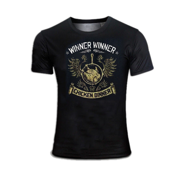 SAMPURCHASE PUBG Winner Winner Chicken Dinner T-shirts