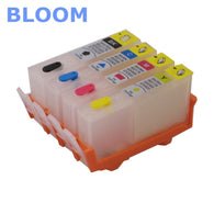 sampurchase  BLOOM compatible 178 refillable ink cartridge For HP Photosmart 7515 B109a B109n B110a Plus B209a B210a Deskjet 3070A 3520