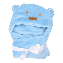 sampurchase Soft Baby Bath Towel Flannel Cartoon Kids Hooded Bath Towels Lovely Animal Baby Super Soft Hooded Towels For Kids Birthday Gift