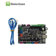 sampurchase  MKS SBASE V1.3 CE&RoHS 32bit Arm platform Smooth control board open source MCU-LPC1768 support Ethernet preinstalled heatsink