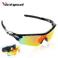 sampurchase VICTGOAL Polarized Cycling Glasses UV400 Protect Bicycle Men Women Sunglasses Running Cycling Fishing Bike Eyewear 5 Len Goggles