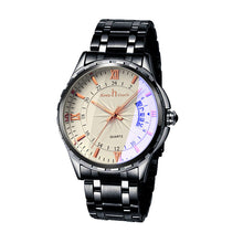 sampurchase Men Watch Waterproof Noctilucent Casual Top Luxury Brand Man Watches Retro Luminous Steel Band Calendar Clock relogio masculino