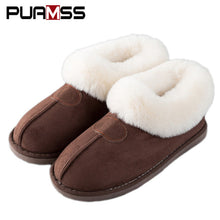 sampurchase Women Winter Warm Ful Slippers Women Slippers Cotton Sheep Lovers Home Slippers Indoor Plush Size House Shoes Woman wholesale